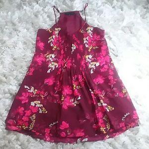 SANCTUARY womens summer dress adjustable straps